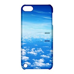 CLOUDS Apple iPod Touch 5 Hardshell Case with Stand