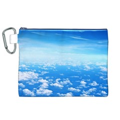 CLOUDS Canvas Cosmetic Bag (XL)