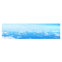 Clouds Satin Scarf (oblong)