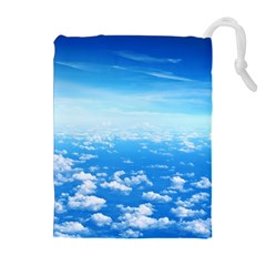 CLOUDS Drawstring Pouches (Extra Large)