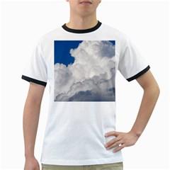 Big Fluffy Cloud Ringer T Shirts