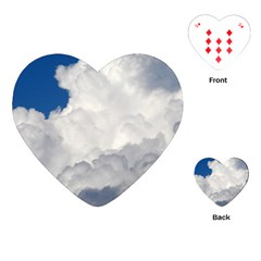 Big Fluffy Cloud Playing Cards (heart)