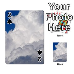 Big Fluffy Cloud Playing Cards 54 Designs