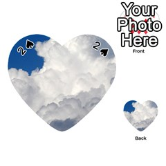 BIG FLUFFY CLOUD Playing Cards 54 (Heart)