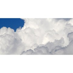 BIG FLUFFY CLOUD YOU ARE INVITED 3D Greeting Card (8x4)