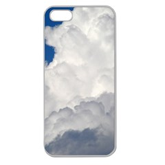 BIG FLUFFY CLOUD Apple Seamless iPhone 5 Case (Clear)