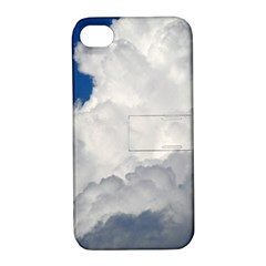 BIG FLUFFY CLOUD Apple iPhone 4/4S Hardshell Case with Stand