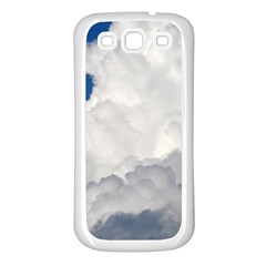 BIG FLUFFY CLOUD Samsung Galaxy S3 Back Case (White)