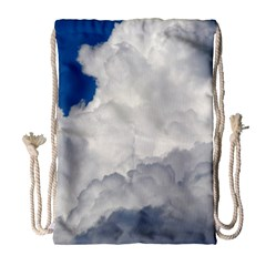 Big Fluffy Cloud Drawstring Bag (large)