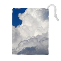 BIG FLUFFY CLOUD Drawstring Pouches (Extra Large)