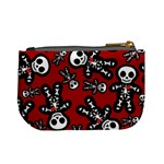 Cute Skeleton Pattern Coin Change Purse Back