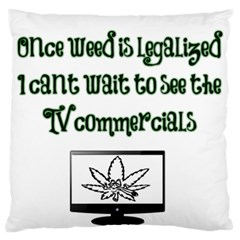 Weed Commercials Standard Flano Cushion Cases (one Side)