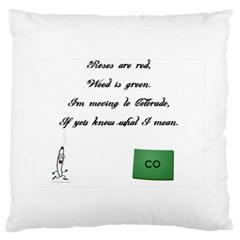 Weed in Colorado Standard Flano Cushion Cases (One Side)