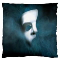 Phantom Mask Large Flano Cushion Cases (Two Sides)