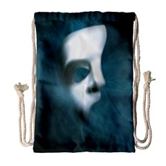 Phantom Mask Drawstring Bag (large)