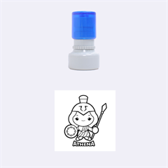 Kiddie Athena Rubber Round Stamps (Small)
