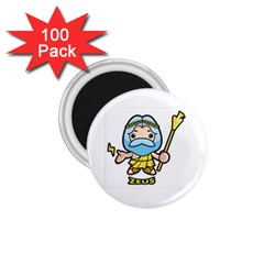 Kiddie Zeus 1 75  Magnets (100 Pack)