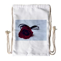 Phantom Rose Drawstring Bag (Large)