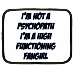 High Functioning Fangirl Netbook Case (XL)