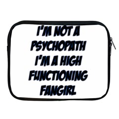 High Functioning Fangirl Apple iPad 2/3/4 Zipper Cases