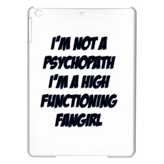 High Functioning Fangirl iPad Air Hardshell Cases