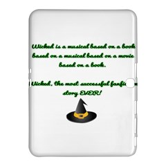 Wicked Fanfiction Samsung Galaxy Tab 4 (10.1 ) Hardshell Case