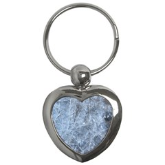 WATERY ICE SHEETS Key Chains (Heart)