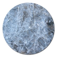 WATERY ICE SHEETS Magnet 5  (Round)