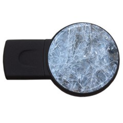 WATERY ICE SHEETS USB Flash Drive Round (1 GB)