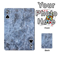 WATERY ICE SHEETS Playing Cards 54 Designs