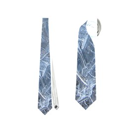 Watery Ice Sheets Neckties (one Side)