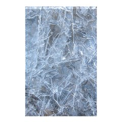 WATERY ICE SHEETS Shower Curtain 48  x 72  (Small)