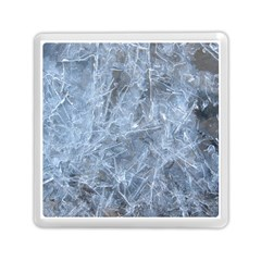 Watery Ice Sheets Memory Card Reader (square)