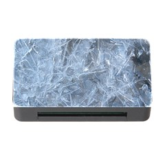 Watery Ice Sheets Memory Card Reader With Cf