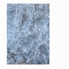 WATERY ICE SHEETS Large Garden Flag (Two Sides)