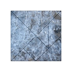 WATERY ICE SHEETS Acrylic Tangram Puzzle (4  x 4 )