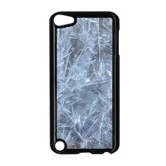 WATERY ICE SHEETS Apple iPod Touch 5 Case (Black)