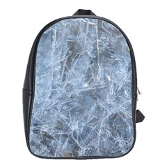 WATERY ICE SHEETS School Bags (XL)