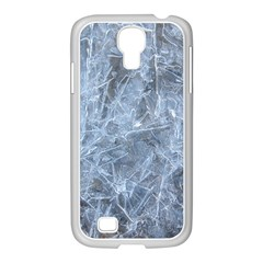 WATERY ICE SHEETS Samsung GALAXY S4 I9500/ I9505 Case (White)