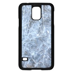 WATERY ICE SHEETS Samsung Galaxy S5 Case (Black)
