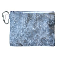 WATERY ICE SHEETS Canvas Cosmetic Bag (XXL)