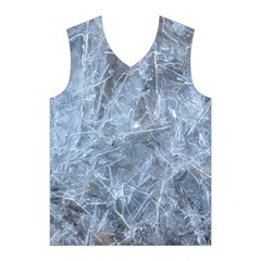 WATERY ICE SHEETS Men s Basketball Tank Top