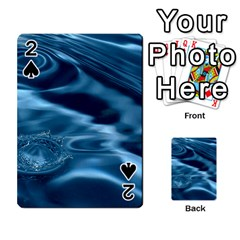 Water Ripples 1 Playing Cards 54 Designs