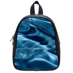 WATER RIPPLES 1 School Bags (Small)