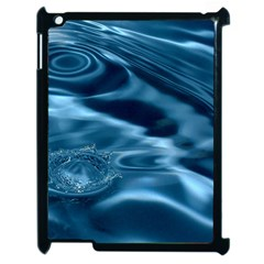 WATER RIPPLES 1 Apple iPad 2 Case (Black)