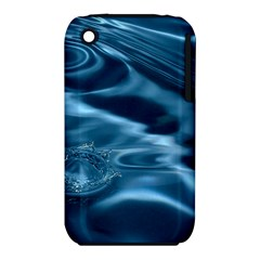 WATER RIPPLES 1 Apple iPhone 3G/3GS Hardshell Case (PC+Silicone)