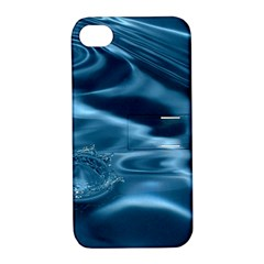 WATER RIPPLES 1 Apple iPhone 4/4S Hardshell Case with Stand