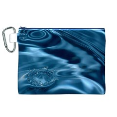 WATER RIPPLES 1 Canvas Cosmetic Bag (XL)