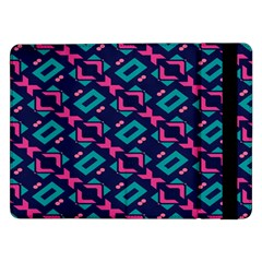 Pink and blue shapes pattern	Samsung Galaxy Tab Pro 12.2  Flip Case