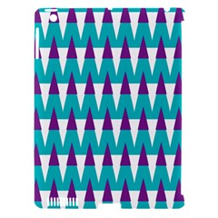 Peaks pattern Apple iPad 3/4 Hardshell Case (Compatible with Smart Cover)